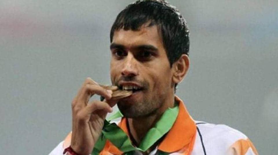 Naveen Dagar,steeplechase,Asian Games