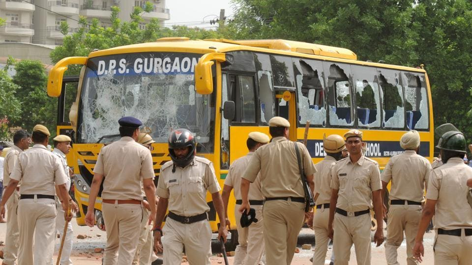 DPS Gurgaon,School bus,Gurugram