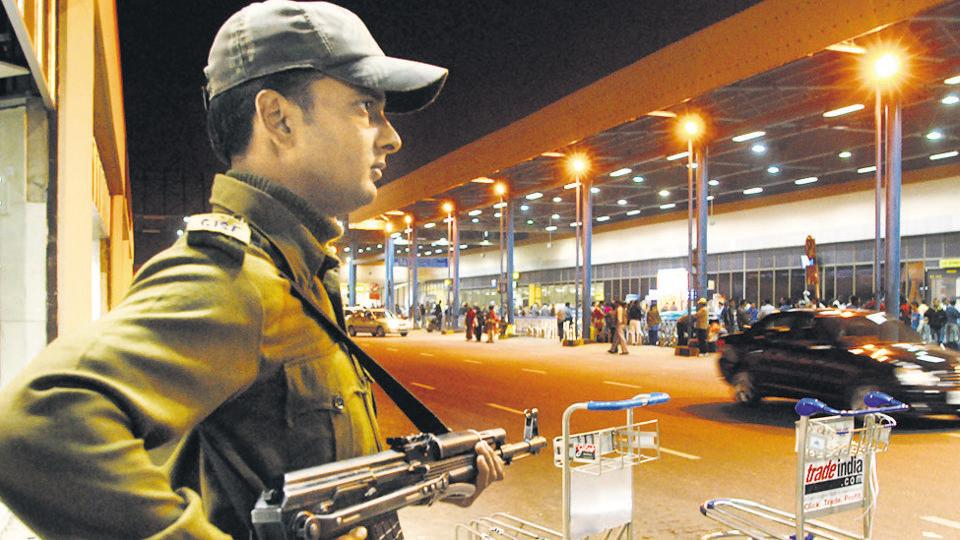 Delhi,IGI airport,CISF