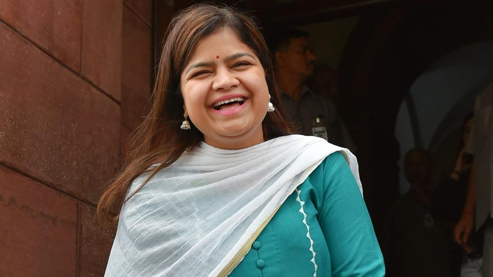 Bharatiya Janata Yuva Morcha chief Poonam Mahajan (pictured) said Trinamool Congress chief Mamata Banerjee had once expressed concern in Parliament over the presence of illegal Bangladeshi immigrants in West Bengal during Left rule in the state.