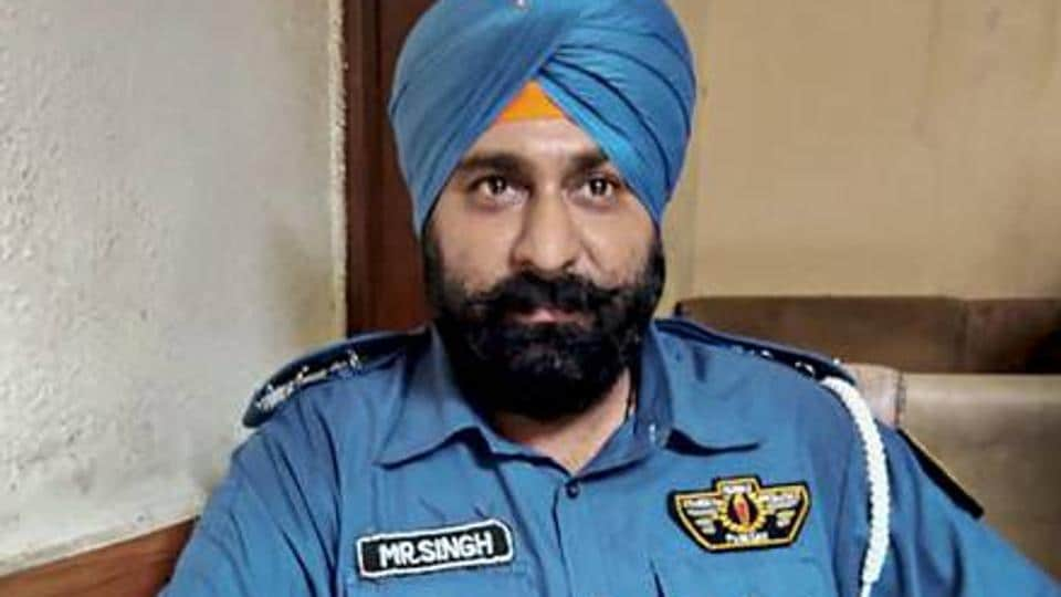 pakistan s first sikh cop sacked for being absent from work world