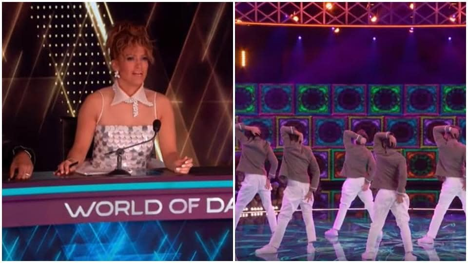 Jennifer Lopez cannot get over Shantanu Maheshwari and his crew's butt-scratch step.