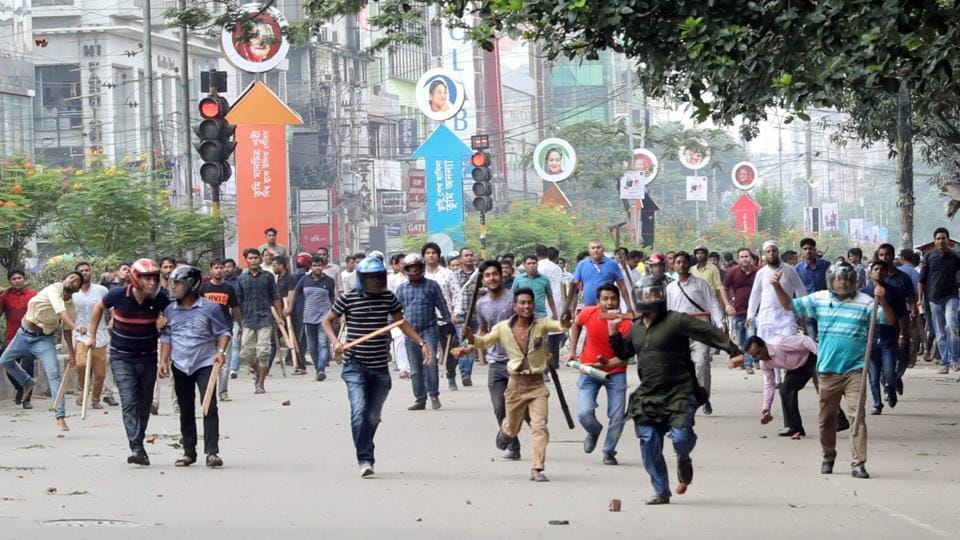 Bangladesh's transport sector is widely seen as corrupt, unregulated and dangerous, and as news of the teenagers' deaths spread rapidly on social media they became a catalyst for an outpouring of anger against the government.