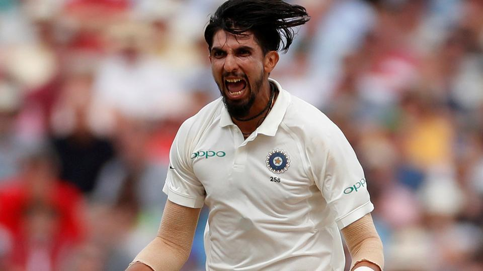 Ishant Sharma celebrates after taking the wicket of England's Dawid Malan. (Action Images via Reuters)