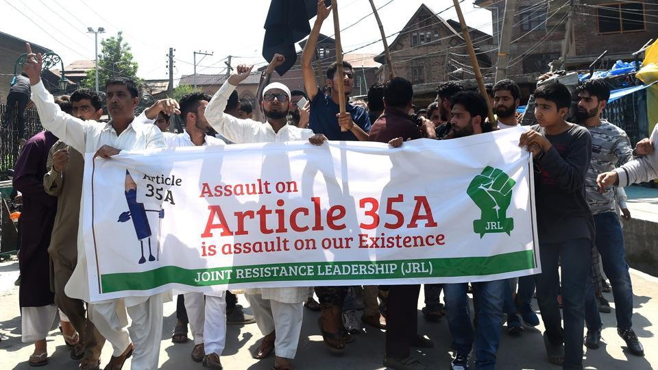 Article 35A,Jammu and Kashmir,Article 35A Supreme Court