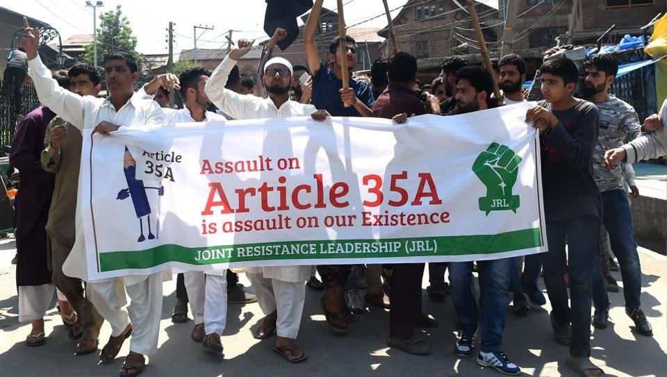 Supreme Court,Jammu and Kashmir,Article 35 A