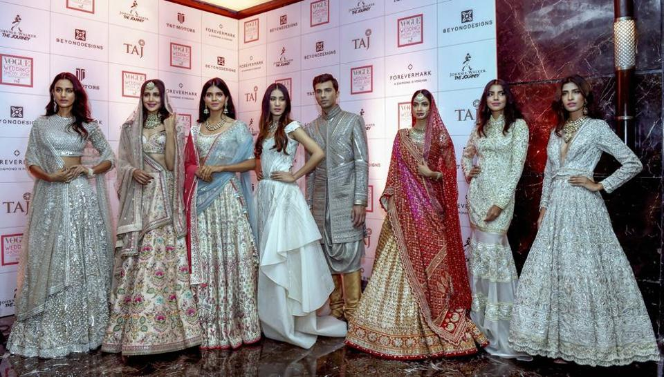 Bollywood Actor Diana Penty In Red And Other Models Showcase Various Creations Of Designer
