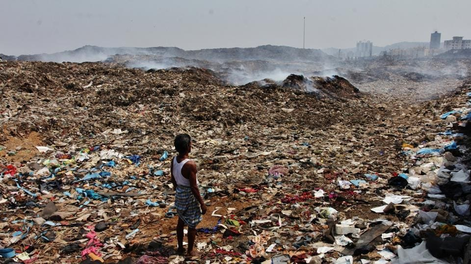 The Deonar dumping ground holds around 12 million tonnes of waste that is generated by Mumbai