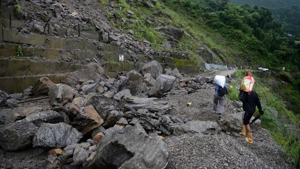 landslide,Nepal,weather