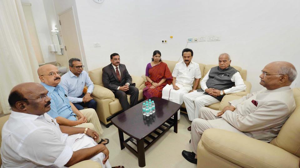 Karunanidhi,Ram Nath Kovind,Kauvery hospital