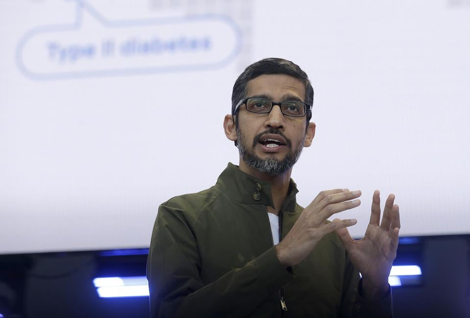 Sundar Pichai,Google,Google search engine