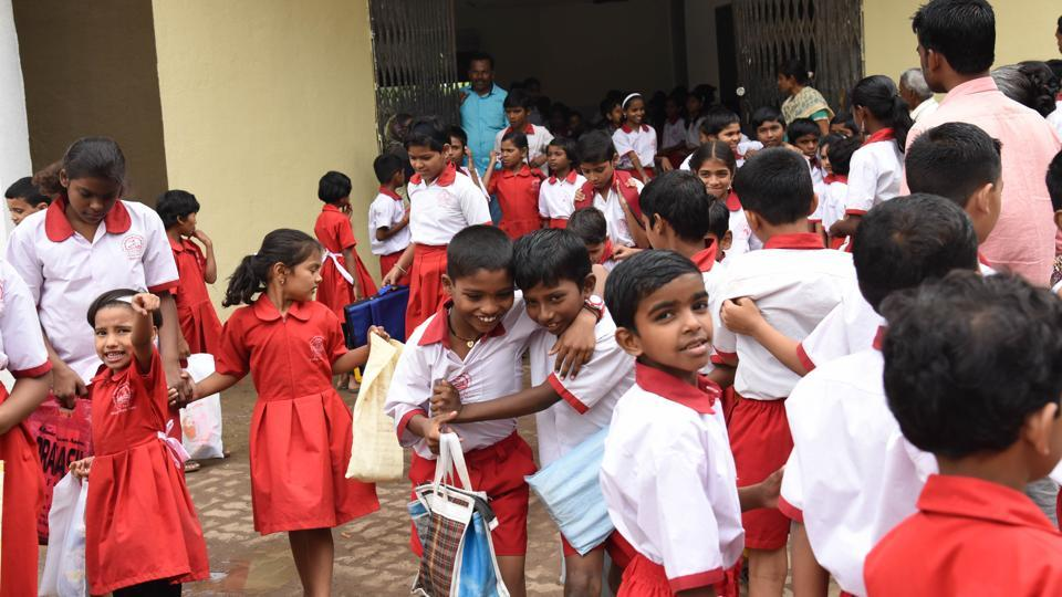 School bags,no schoolbag day,PCMC