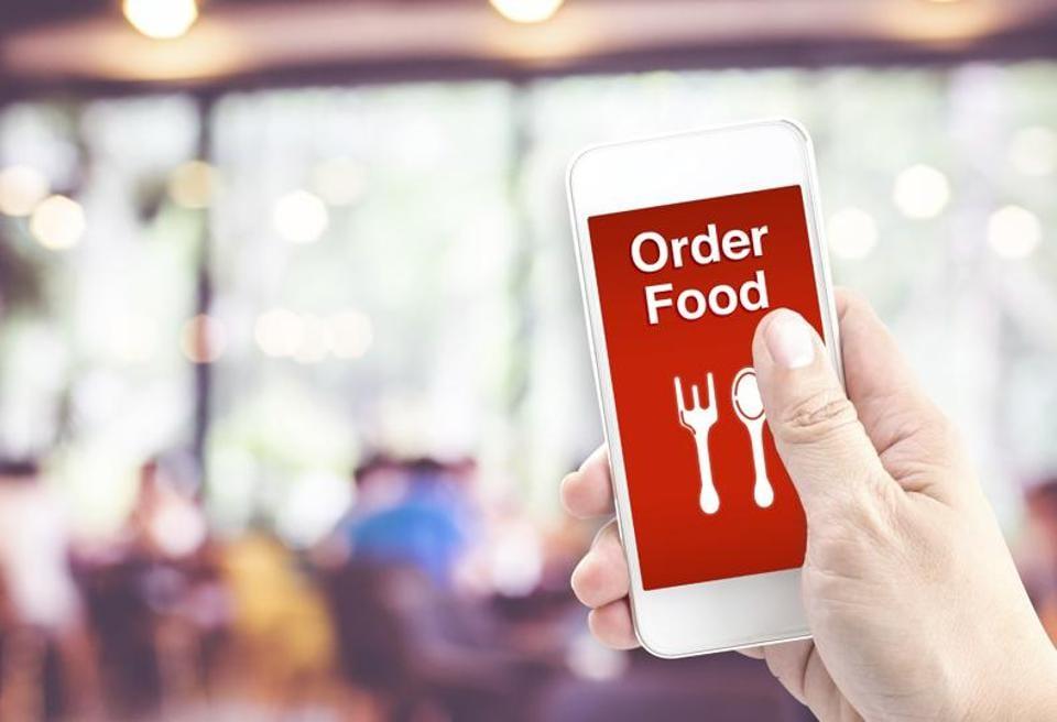 Order resume online food