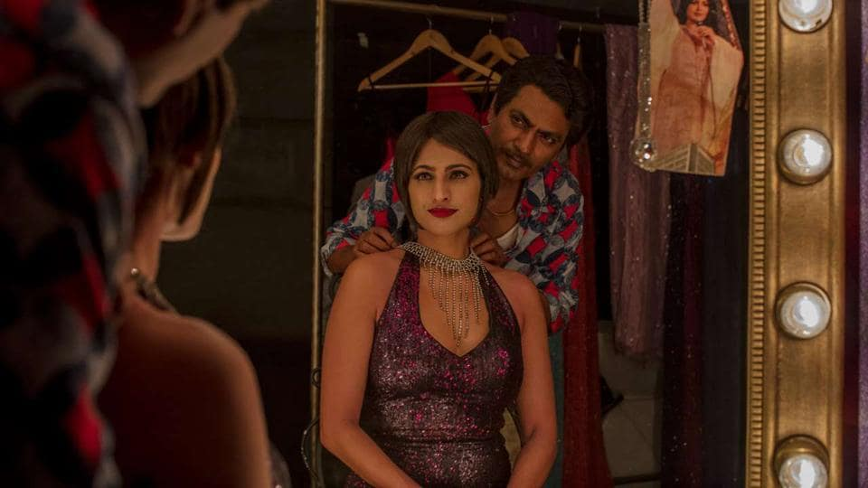 Nawazuddin Siddiqui and Kubbra Sait in a still from Sacred Games.