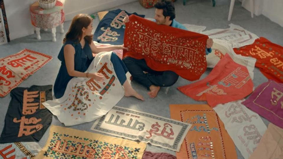 Anushka Sharma and Varun Dhawan had a tough time looking for the perfect logo for Sui Dhaga.