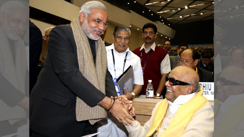 Karunanidhi dies,Karunanidhi,Narendra modi