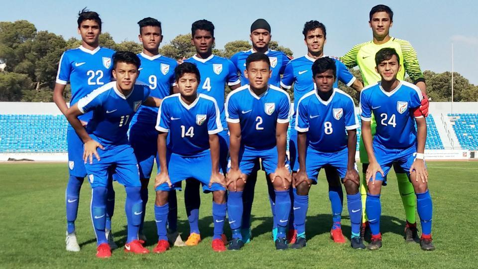 Indian U-16 football team defeated Yemen in their WAFF Championship encounter.