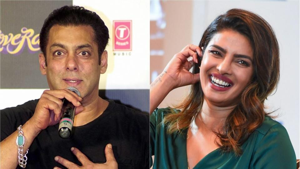 Priyanka Chopra cited different reason to quit 'Bharat', reveals Salman Khan