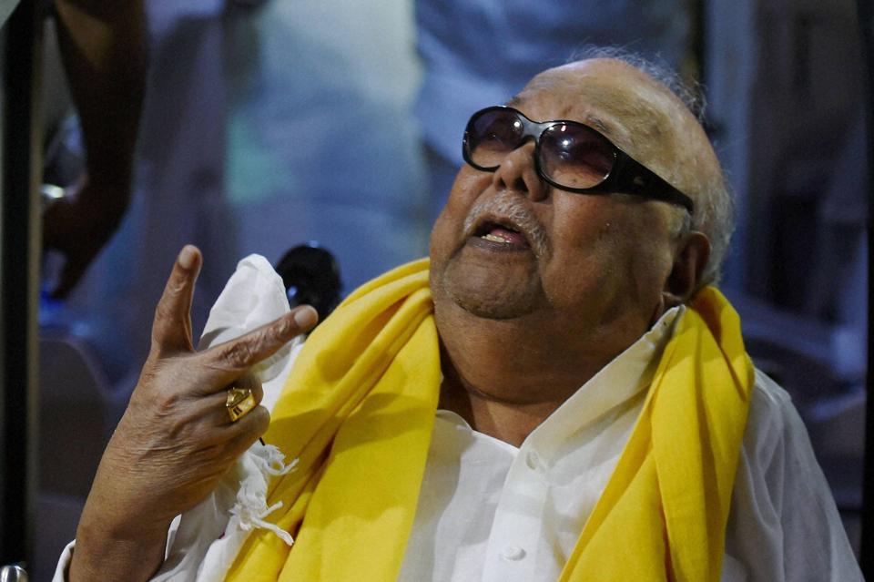 Karunanidhi,karunanidhi death,karunanidhi obituary