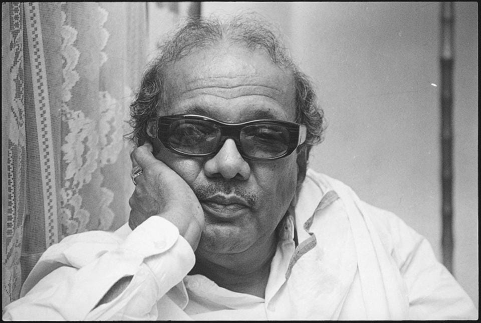 Karunanidhi was the invisible artist, the scriptwriter, whose words and stories regaled and vulcanised actors and audiences alike.