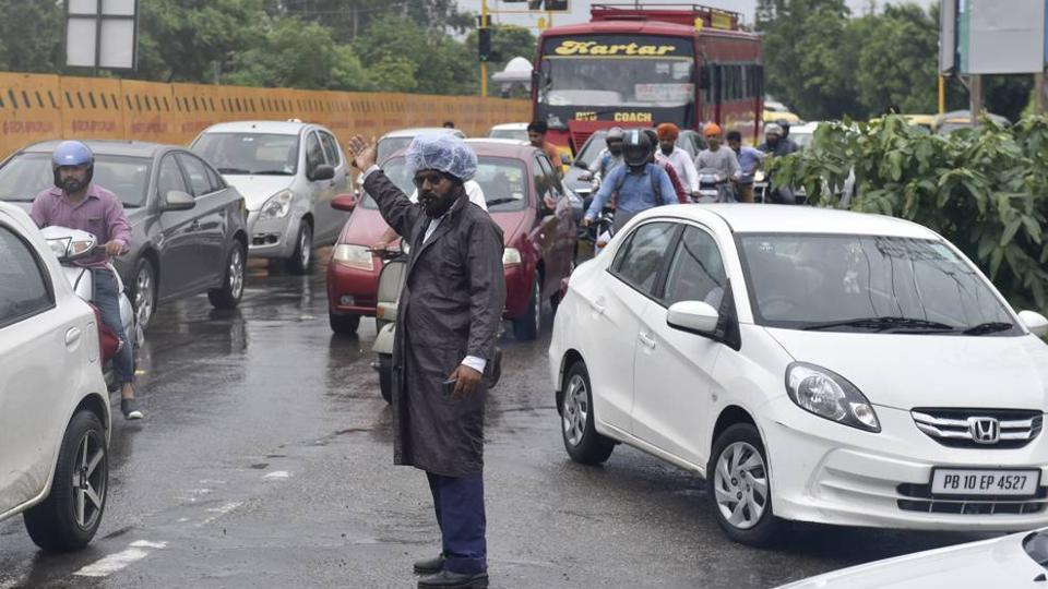 Ludhiana traffic police,police,punjab police