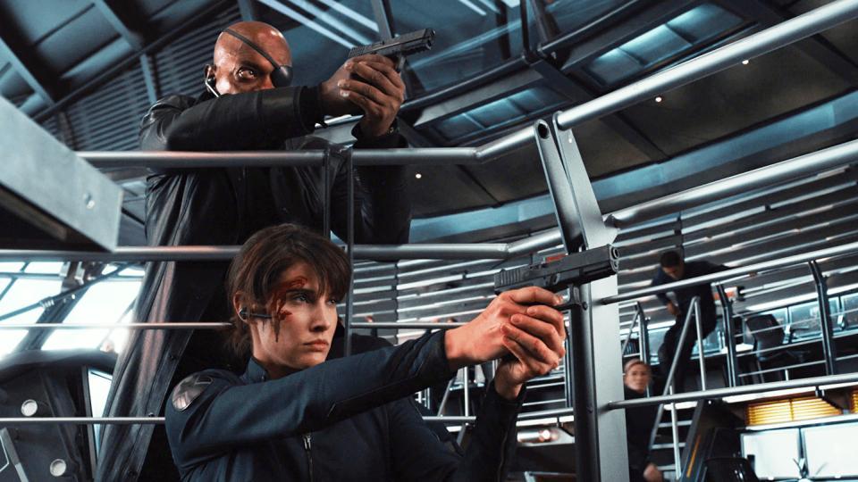 Samuel L Jackson,Cobie Smulders,Spider-Man: Far From Home