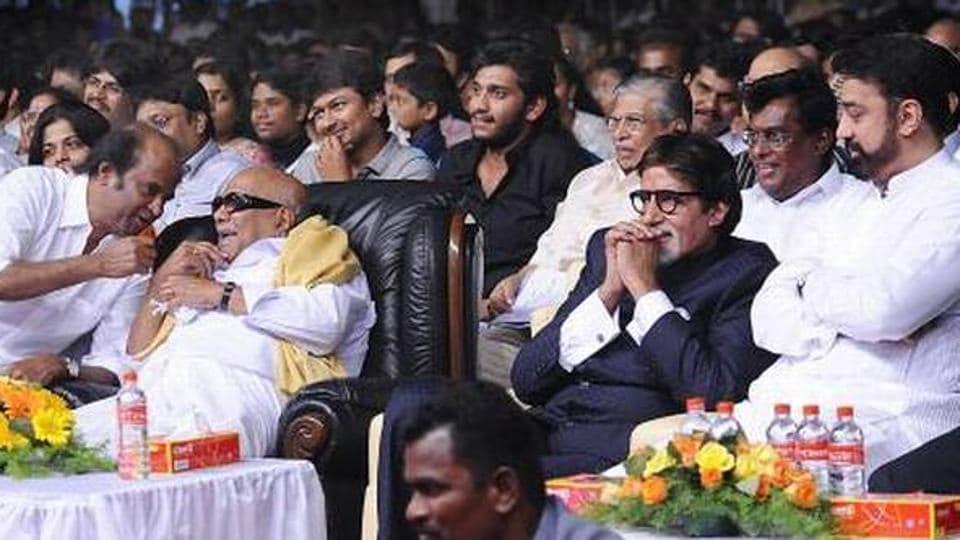 M Karunanidhi death,Kalaignar Karunanidhi death,Amitabh Bachchan