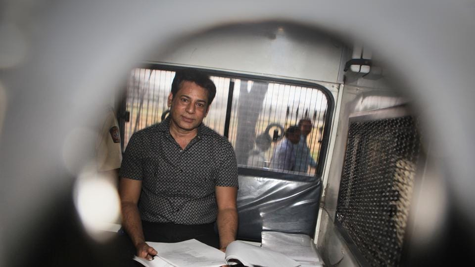 The Bombay high court on Tuesday rejected Gangster Abu Salem's plea for parole leave for a month to get married. The bench rejected the appeal, on the ground that he has been convicted for a terrorist act and Maharashtra Prison Rules do not allow grant of furlough or parole to such a convict. (Anshuman Poyrekar / HT Archive)