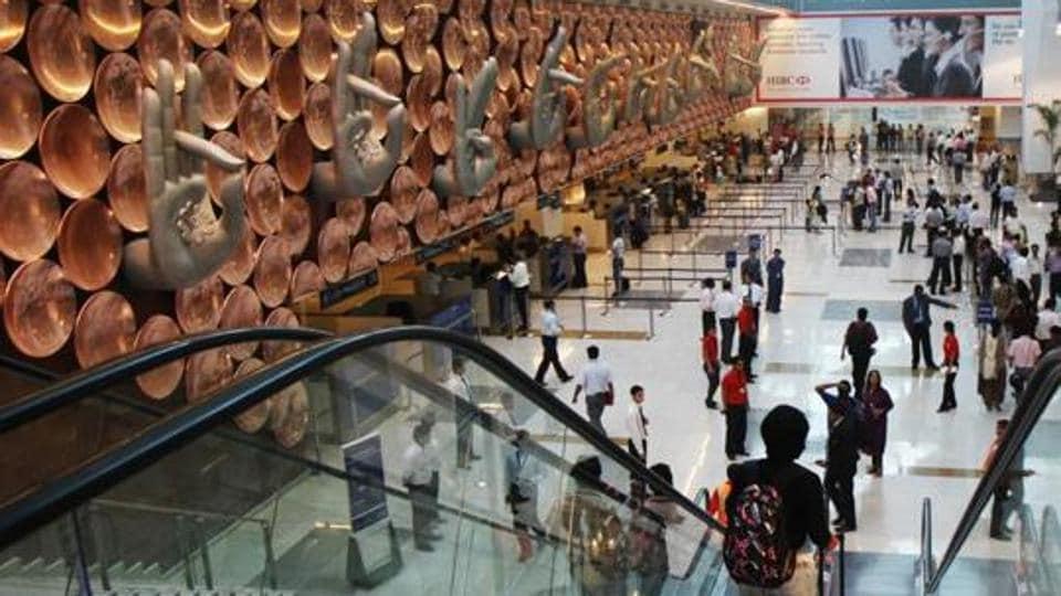 Delhi airport,IGI airport,Fake ticket