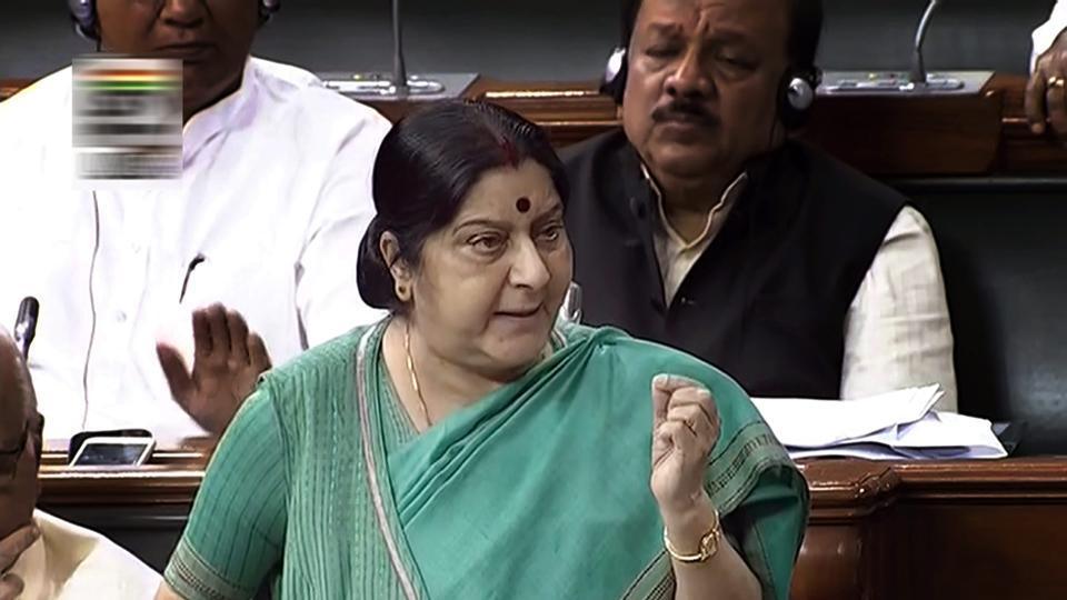 Pak terror,Sushma Swaraj,external affairs minster Sushma Swaraj