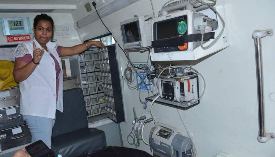 Hi-tech ambulance,Chandigarh,Government Medical College and Hospital