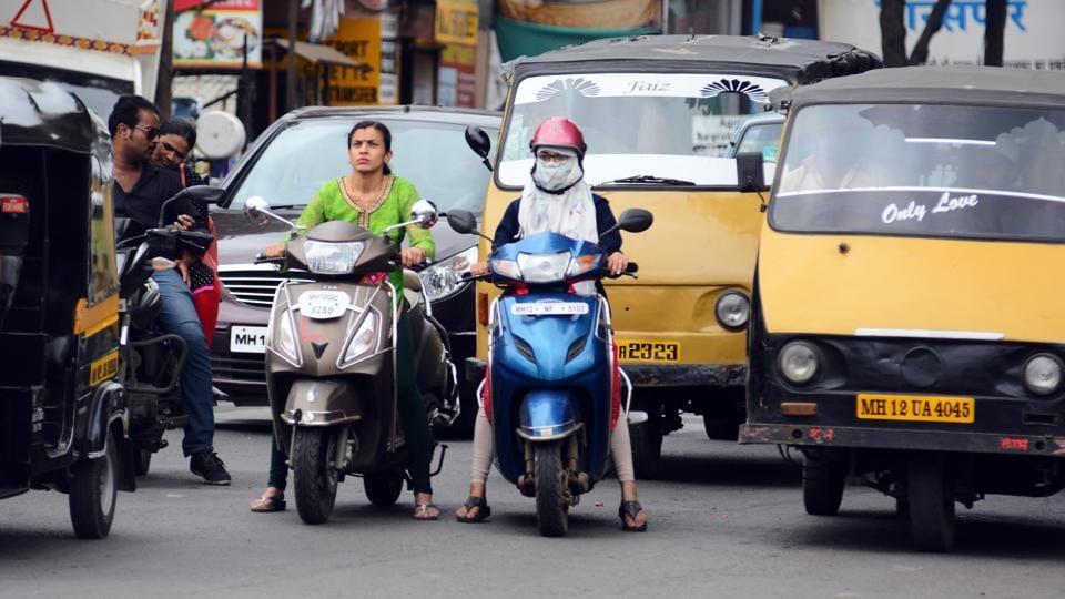 women riders,two-wheelers,risk