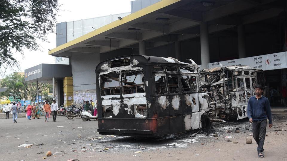 State transport body,losses,Maratha agitation