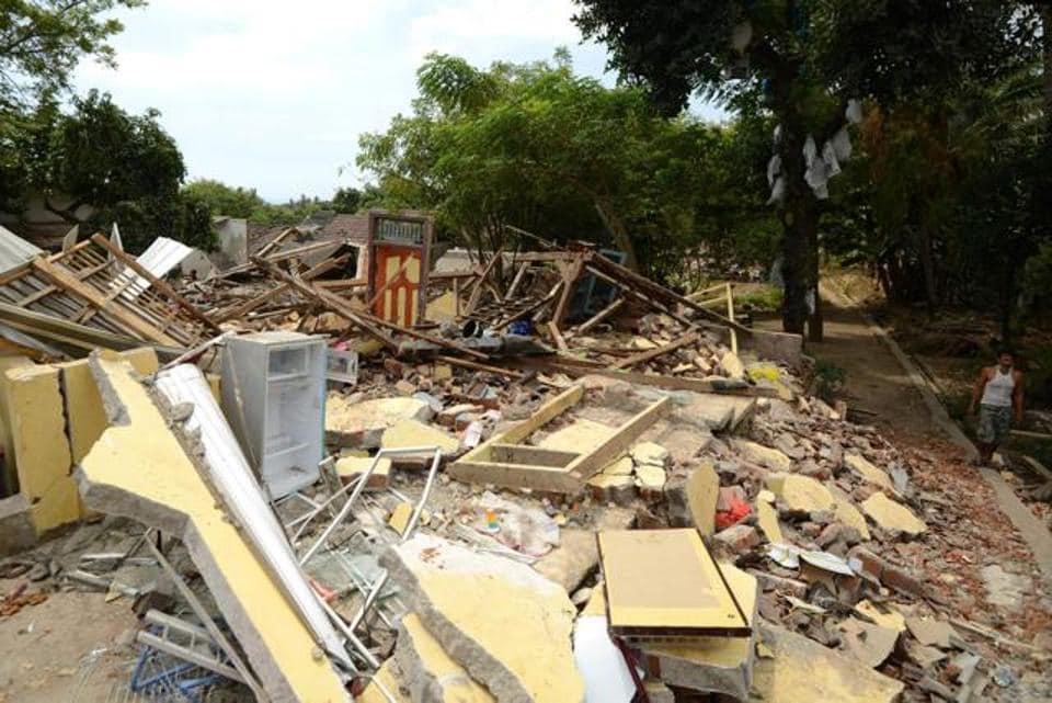 earthquake lombok,NASA on lombok,earthquake in Indonesia