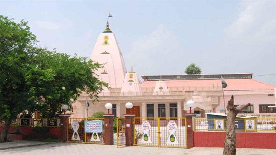 Chandigarh,Shri Digamber Jain Mandir,Digamber Jain monk