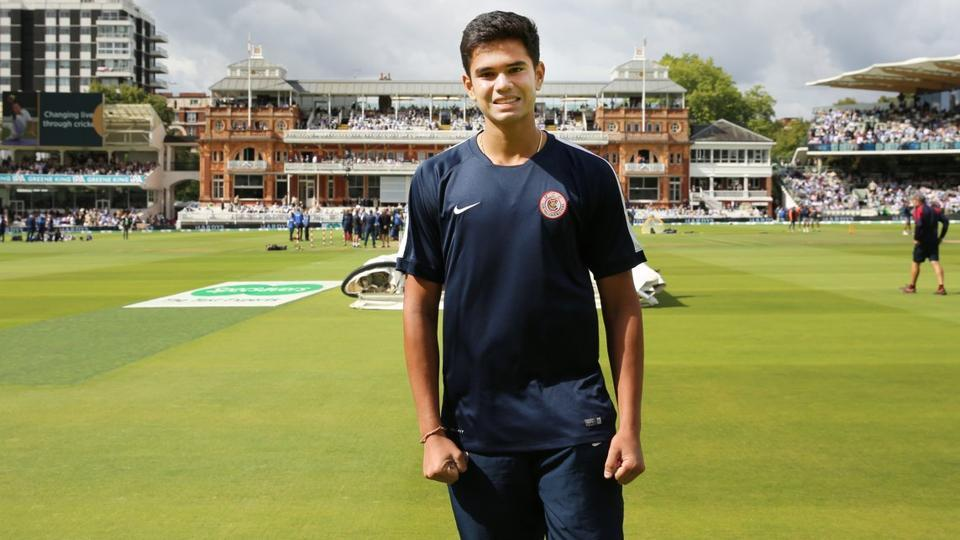 India vs England,Arjun Tendulkar,Sachin Tendulkar