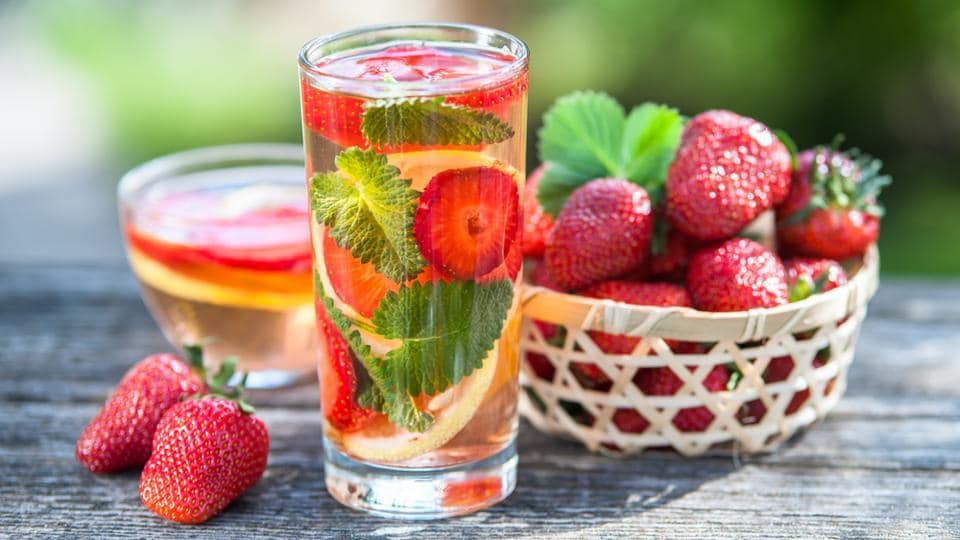 This is a good choice as a pitcher for your next party. All you need to do is slice some strawberries and add a few mint leaves to chilled water.  (shutterstock)