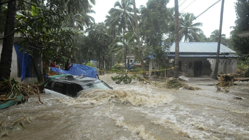 idukki dam,water level of idukki dam,kerala flooding