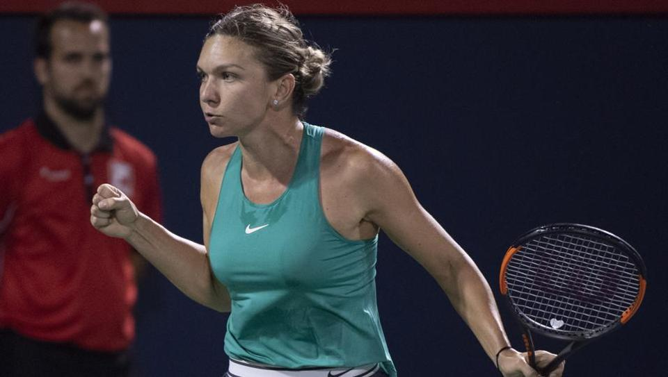 Simona Halep,Venus Williams,Rogers Cup