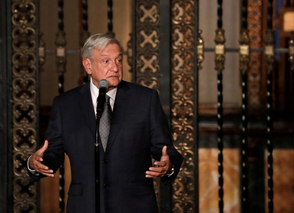 Mexico's President-elect Andres Manuel Lopez Obrador said he will abandon the secret service-style protection used by his predecessor