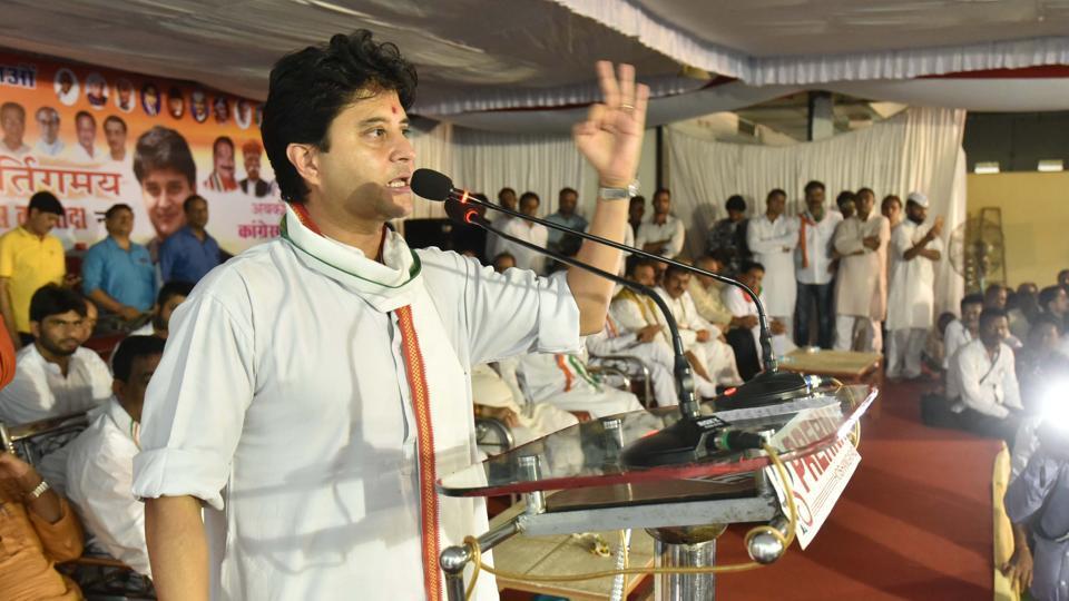 Jyotiraditya Scindia,Congress,Madhya Pradesh