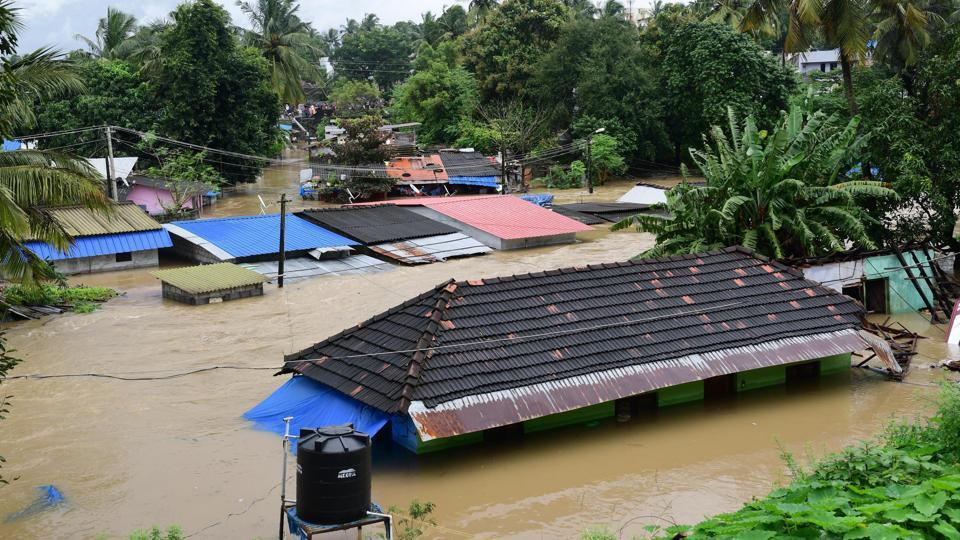 Kochi in Kerala's Ernakulam district braced for floods as the water level in the Periyar River went up after the fourth sluice gate of the Idukki dam was opened in the morning, prompting authorities to close schools and offices. (PTI File)