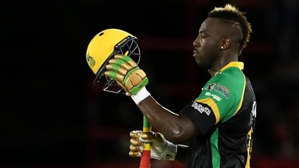 Andre Russell scored 121 off 49 balls and also took 3 wickets as the Jamaica Tallawahs beat the Trinbago Knight Riders by 4 wickets.