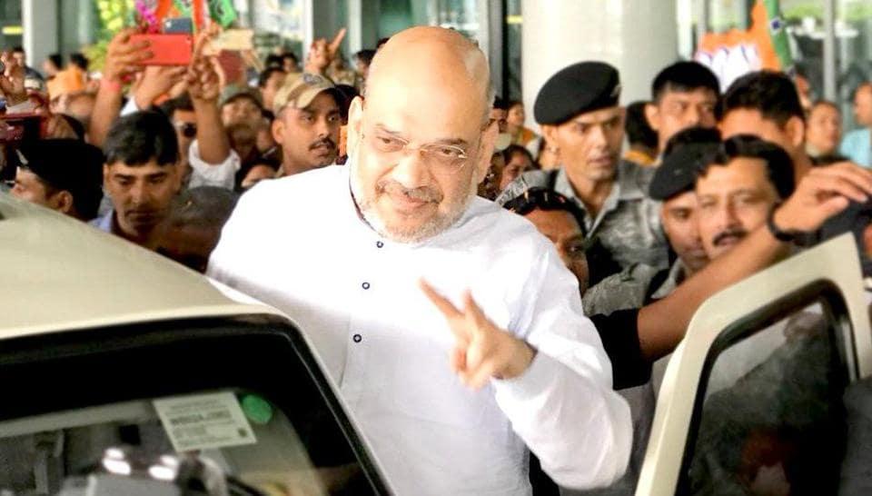Amit Shah,Amit Shah in Kolkata,Amit Shah rally