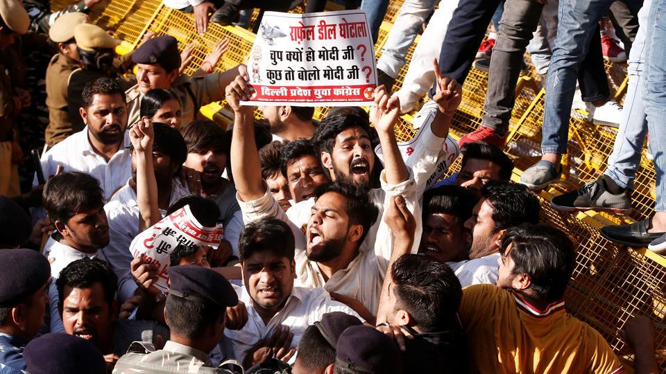 Opposition youth wings,nationwide agitation against Modi govt,Youth Congress