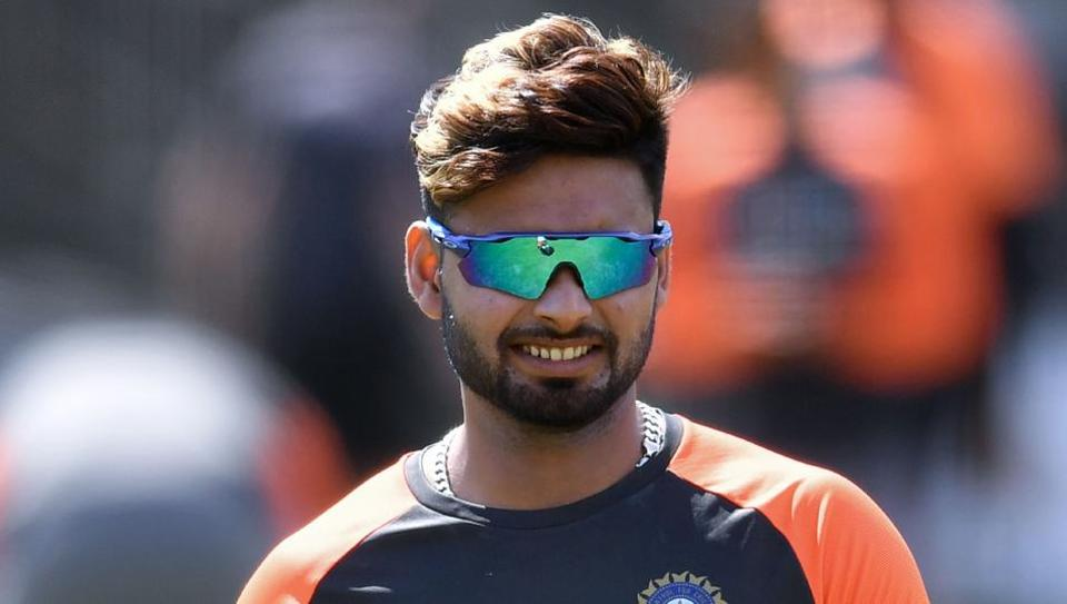 India's Rishabh Pant attends a training session at Lord's Cricket Ground in London on August 8, 2018, ahead of the second Test cricket match between England and India.