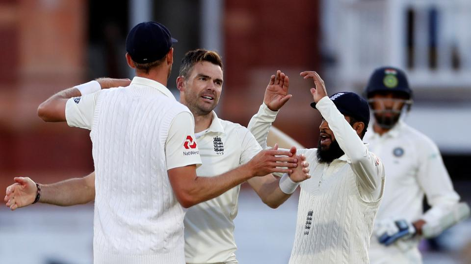 Woakes and Bairstow grind India into the Lord's dirt as England dominate