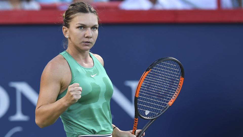 Simona Halep,Caroline Garcia,Rogers Cup