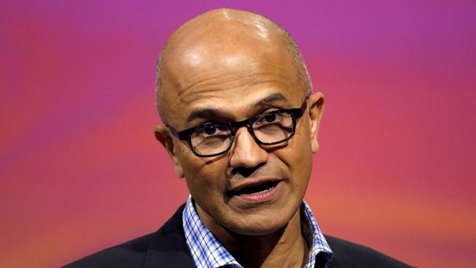 Satya Nadella,Microsoft,Microsoft CEO