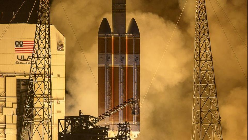 NASA soalr probe launches,Parker solar probe,NASA